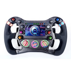 STEERING WHEEL FORMULAS3 - SIMUALTOR - PADDLE SHIFT - 5 ROTARY KNOB -SEASON 3