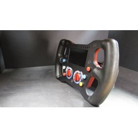 SINGLE SEATER STEERING WHEEL SWX2210 - 2 PALETTES - 2 ROTARY - 6 SWITCH