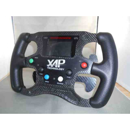 Single-seat carbon steering wheel FR 4 Paddle shift 4 Switch