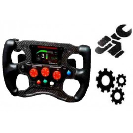 SERVICING OPTION : PLEXIGLASS REPLACEMENT FOR STEERING WHEEL - FE