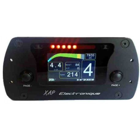 KIT SX-DASH WITH DASHBOARD + LOOM + LASER ETCHING PERSONALISABLE FRONT END