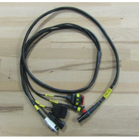 LOOM FROM STEERING COLUMN CONNECTOR TO PC - SINGLE SEATER STEERING WHEEL FORMULA