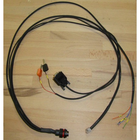 LOOM FROM SPIRAL LOOM CONNECTOR TO PC - SINGLE SEATER STEERING WHEEL FORMULA