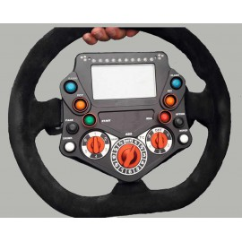 GT STEERING WHEEL - 2 paddles / 4 Rot / 8 sw - 4.3'' 480x272 - WITHOUT Q R