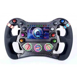 STEERING WHEEL FOR SIMULATOR FORMULAS3 - 6 PADDLE, 5 KNOB