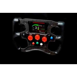 STEERING WHEEL FOR SIMULATOR FORMULAS1 - 6 PADDLE SOFT SIMULATEUR, 3 KNOB - Sim. Soft